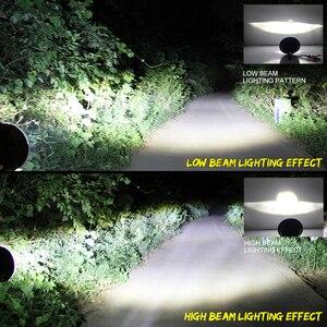 Image 5 - שיתוף אור 7 אינץ LED פנס 180W זווית העין DRL הפעל Singal 12V 24V Hi/Lo עבור ג יפ רנגלר לאדה ניבה 4x4 Offroad נהיגה אורות