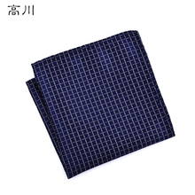 12 Styles Fashion Men s Pocket Square Western Style Floral Handkerchief for Suit Pocket Wedding Square