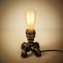 OYGROUP lampe de Table en fer industrielle avec interrupteurs et boutons, idéal pour un bureau ou une maison de lecture, modèle OY17T11 EU