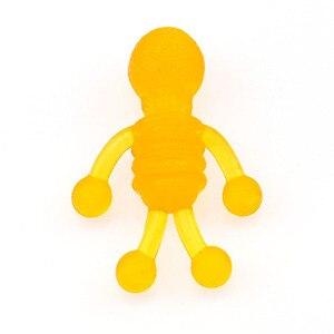 Image 5 - 10pcs Squishy Soft Skeleton Antistress Decompression Sticky Eliminate skeleton Stress Squishies Squeeze Friet Toys WYQ