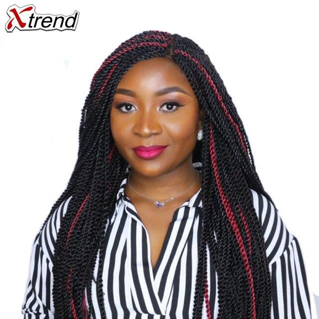Xtrend 14 18 22 Inch 30roots Senegalese Twist Hair Crochet Braid