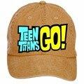 Унисекс Teen Titans Перейти Робин DIY Регулируемые Шляпу Бейсбол