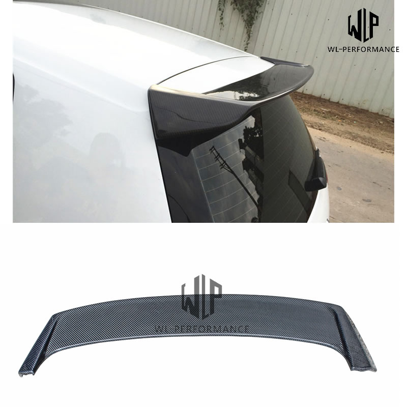 High Quality Carben Fiber Rear Spoiler Wings Car Styling For Volkswagen Golf 7 GTI R20 Isweep Style Car Body Kit 2009-2016