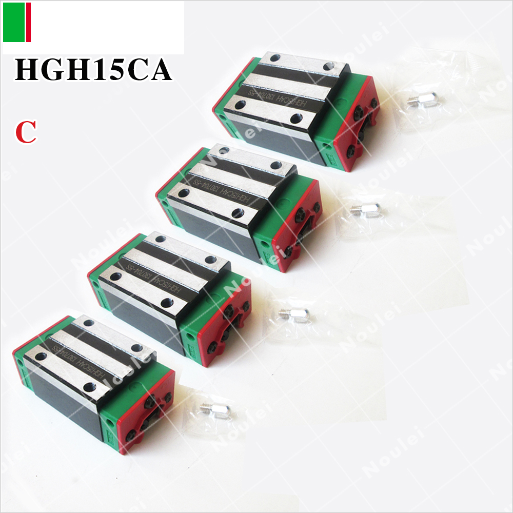 все цены на HIWIN HGH15CA slide block HGH15 CA head guide for linear rail CNC diy parts онлайн