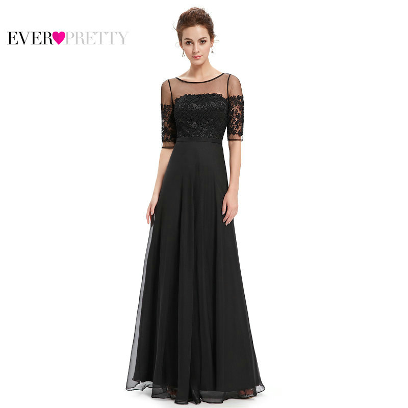 [Clearance Sale] Ever-Pretty Women Elegant Sexy   Evening     Dresses   Lace A Line Chiffon Backless Formal Party   Evening     Dress