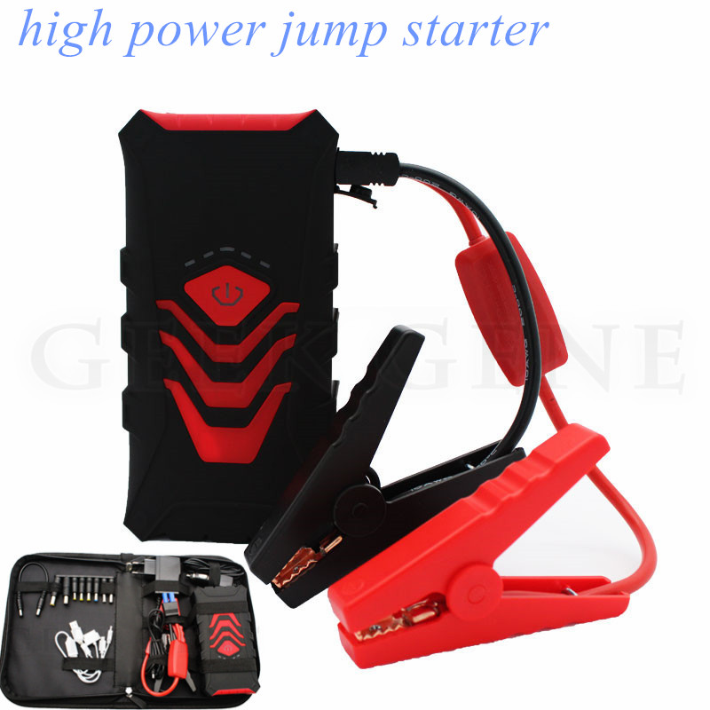 Car Jump Starter Battery 600A Emergency Starting Device Starter Power Bank 12V Charger for Car Battery Booster Buster Diesel 12v 20000mah multi function car jump starter power bank emergency charger booster battery