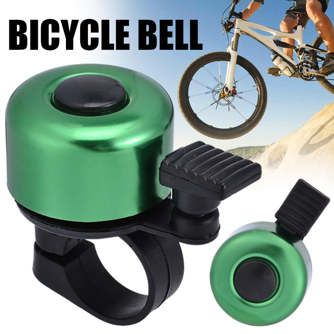 I Like My Bike Aluminum Bike Bicycle Cycling Handlebar Bell Ring Alarm Silver