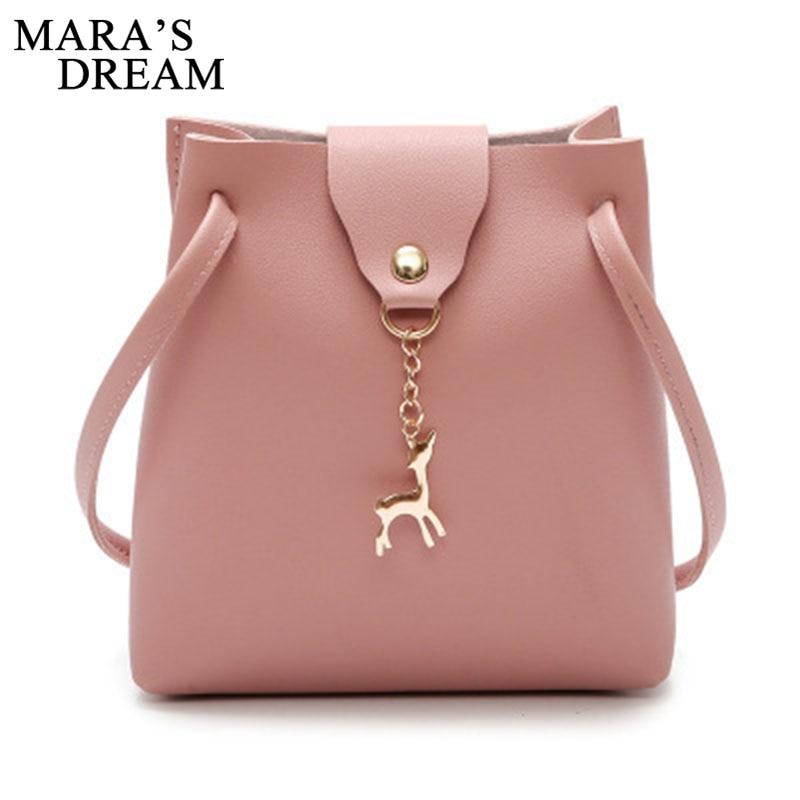 Maras Dream Messenger Bag New Summer Women Handbags Leather Crossbody Bag Small Deer Shoulder Bags Ladies Holiday Beach Bags
