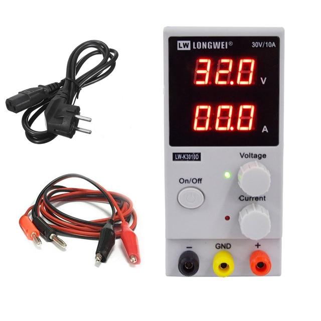 LW 3010D DC כוח 110V 220V מיני מתכוונן הדיגיטלי DC 0 ~ 30V 0 ~ 10A מיתוג אספקת חשמל lw3010d מתג כוח
