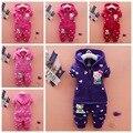 Conjuntos de roupas de outono das crianças das crianças set two-piece de roupas de bebê e veludo de algodão do bebê 0-4-ano-velho terno