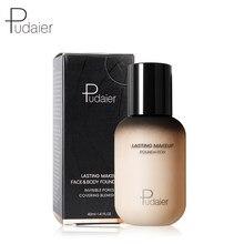 Pudaier 40ml crème de fond de teint de maquillage mat pour visage professionnel dissimulant maquillage liquide longue durée cosmétiques livraison directe