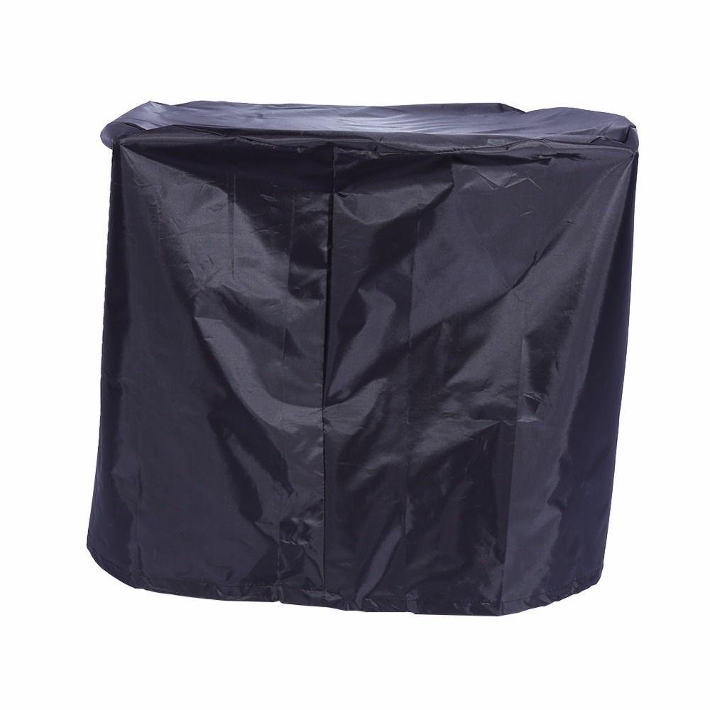 56x71cm Black Waterproof BBQ Cover Round Outdoor Barbecue Covers Grill Gas Dust Rain-proof/Dust-proof/UV Protector Hot Selling