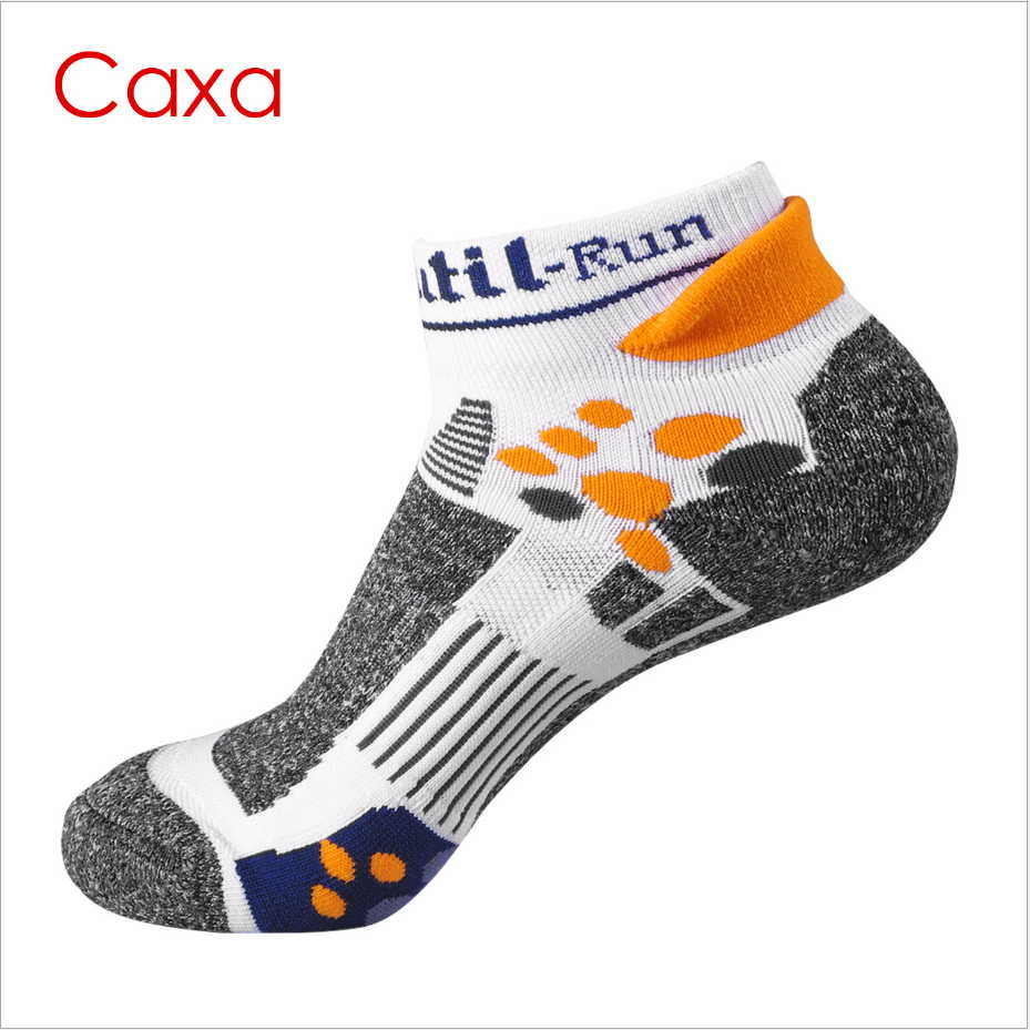 Caxa all season Professional Mens Sport Socks EU 39 to 43 Bradyseism Running Sock Quick Dry Climbing Gym Fitness Calcetines