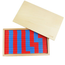 Wooden Montessori Toys Math Small Numerical Rods Stick Box Preschool Educational Learning Toys for Kids Birthday Gift ME2344H