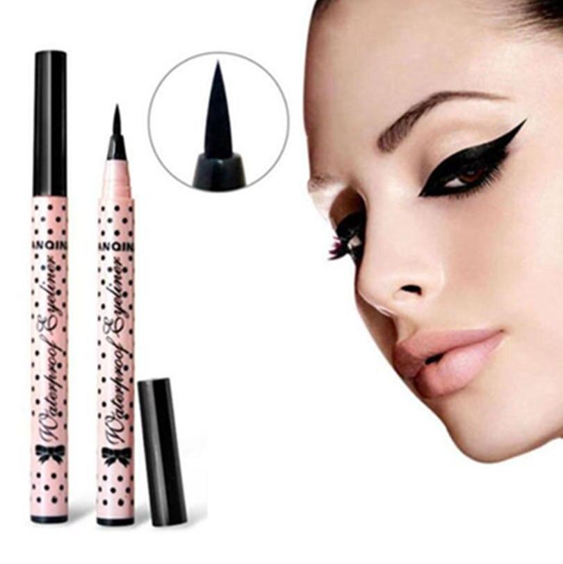 Hottest Color Liquid Eye Liner Pen Long Lasting Waterproof  Beauty Tool Eyeliner Pencil Makeup Cosmetics Women Dropship New