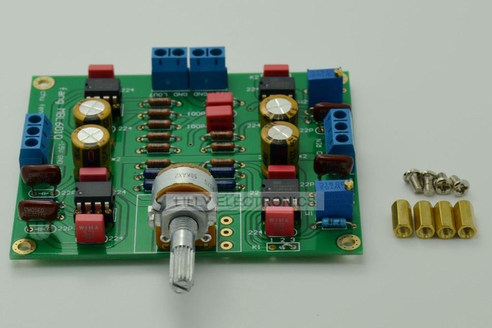 Preamplifier Board 2x OPA604AP+2x OPA2604AP Finished Board DC+/-15V Circuit assembled upgraded n5 preamplifier board hifi amp board with 2134 opa