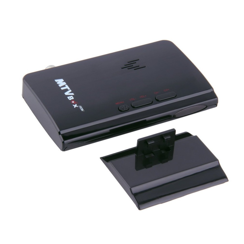 Onleny профессиональный внешний ЖК-дисплей ТВ ПК Box аналоговый приемник Программа тюнер HD ТВ дома ТВ Media Player окно Топы ЕС тип штекера черный