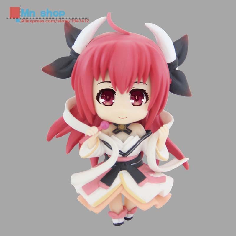 Cute Nendoroid <font><b>Date</b></font> <font><b>A</b></font> <font><b>Live</b></font> <font><b>Itsuka</b></font> <font><b>Kotori</b></font> <font><b>Efreet</b></font> <font><b>PVC</b></font> <font><b>Anime</b></font> Action Figure Model Doll Toys 8cm P20
