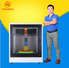 Commercial china industrial large printing size 600*600*600mm screen 3d printer machine for sale