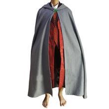Костюм Хоббита Фродо, костюм для косплея, полный комплект из фильма «Властелин Колец», топ+ жилет+ накидка+ штаны на заказ