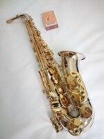Japan NEW YANAGISAWA A WO37 Alto Saxophone Nickel Plated Gold Key Professional Sax Musical Instruments Free