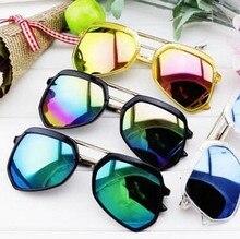 Rokakids 2016 new vintage boy niñas niños gafas de sol recubrimiento gafas de sol de los niños gafas de sol gafas de sol gafas infantiles