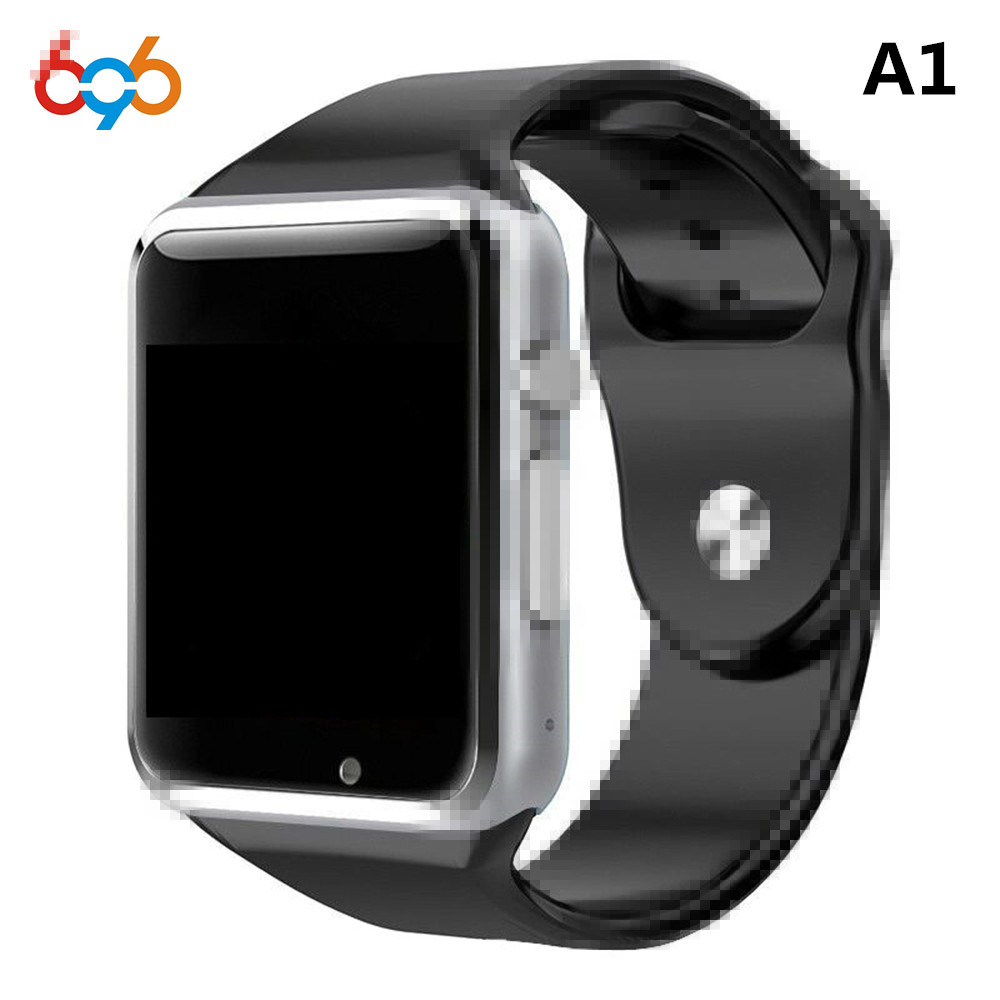 696 High Quality Android Smart Watch A1 Bluetooth Clock With Pedometer SMS Sync Support Camera TF SIM Card Smartwatch gt08