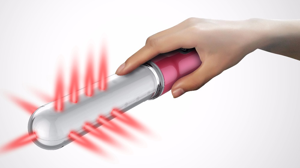 New products cold laser light therapy hand massage vibrator for vaginal treatment hand massage vibrator hand massage vibrator gynecological cervical erosion vaginal tightening massage electric 650nm physical laser red light therapy vibrator wand