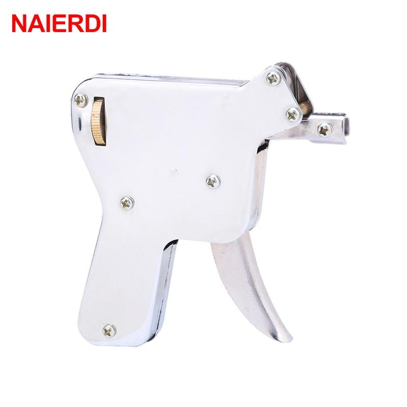 NAIERDI Lock Pick Gun Set Locksmith Tools Practice Hand Tool Broken Key Remove Auto Extractor Set