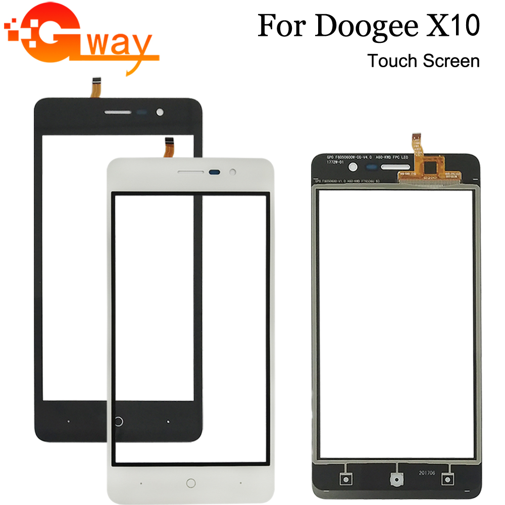 For Doogee X10 Touch Screen Digitizer Panel Sensor Front Glass With Free Tools