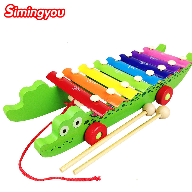 Simingyou Piano Wooden Learning Education Musical Toy