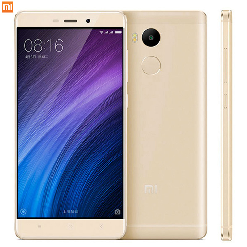 "Original Xiaomi Redmi 4 Pro 3GB RAM 32GB ROM MIUI8.1 OTA Snapdragon 625 5.0"" 4100mAh 13.0MP xiomi mi Redmi4 Mobile Phones xaomi"