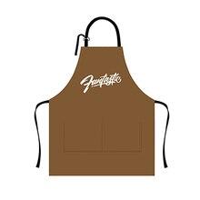 Кожаные кулинарные фартуки водонепроницаемый маслостойкий кухонный фартук фартуки для ресторанов для женщин домашний безрукавный фартук