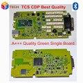 Alta Qualidade TCS cdp PRO software NOVO VCI Com bluetooth + única placa verde 2014R2/2015. R3 livre grátis