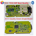 High Quality TCS cdp PRO NEW VCI With bluetooth + single board green software 2014R2/2015.R3 free shipping