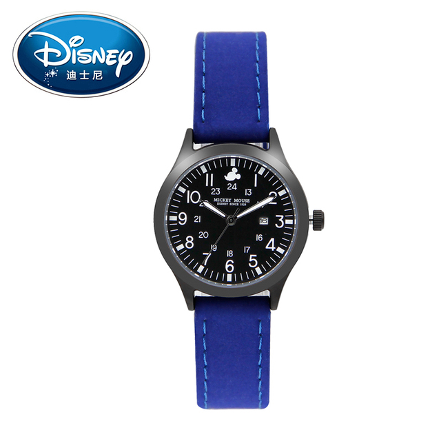Disney Kids Watches Children Watch Luminous Calendar Quartz Watch Waterproof Fas