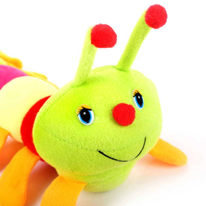 Toys & Hobbies ... Baby & Toddler Toys ... 32575650993 ... 4 ... Mini Caterpillar Soft Toy Doll Rattle Kids Baby Playmate Toys Calm Owl Doll Cute peek-a-boo Hot Gift For Children Kids Baby ...