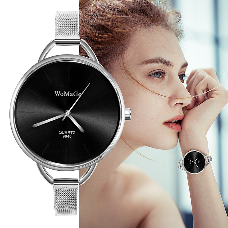 Women Watches Silver Gold Fashion Ladies Watch Clock Montre Femme Reloj Mujer Women Watch Saati Zegarek Damski Bayan Kol Saati бритва philips rq1145 16