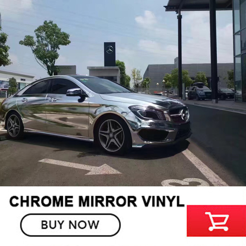 5x65FT Silvery Chrome Vinyl Wrap Film Waterproof Protected Auto Mirror Vinyl Wrap Film Car Sticker Decal Sheet free shipping наматрасники candide наматрасник водонепроницаемый waterproof fitted sheet 60x120 см
