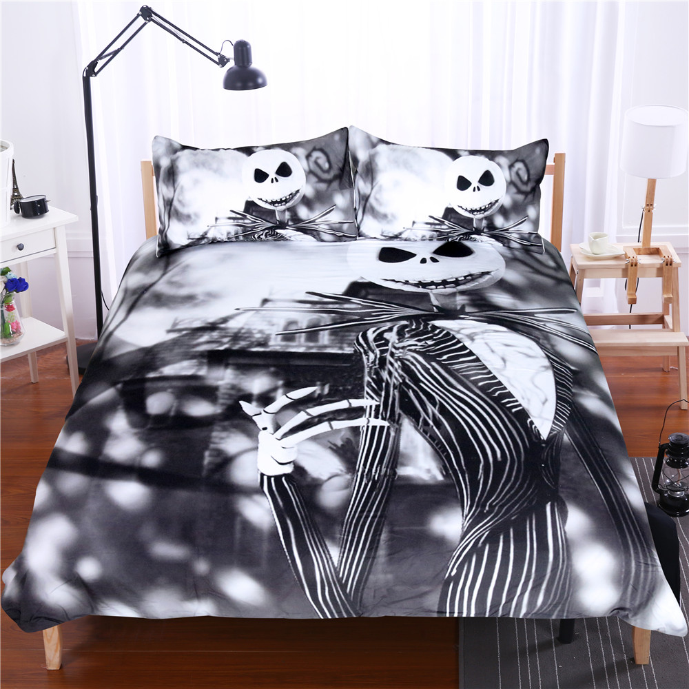 Nightmare Before Christmas Sheet Set Queen
