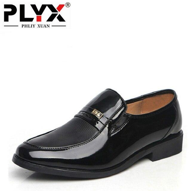 1384c535d PHLIY شوان الأزياء 2019 رجل الأعمال أحذية من الجلد عالية الجودة Ofords ل أحذية  رجالي الشقق