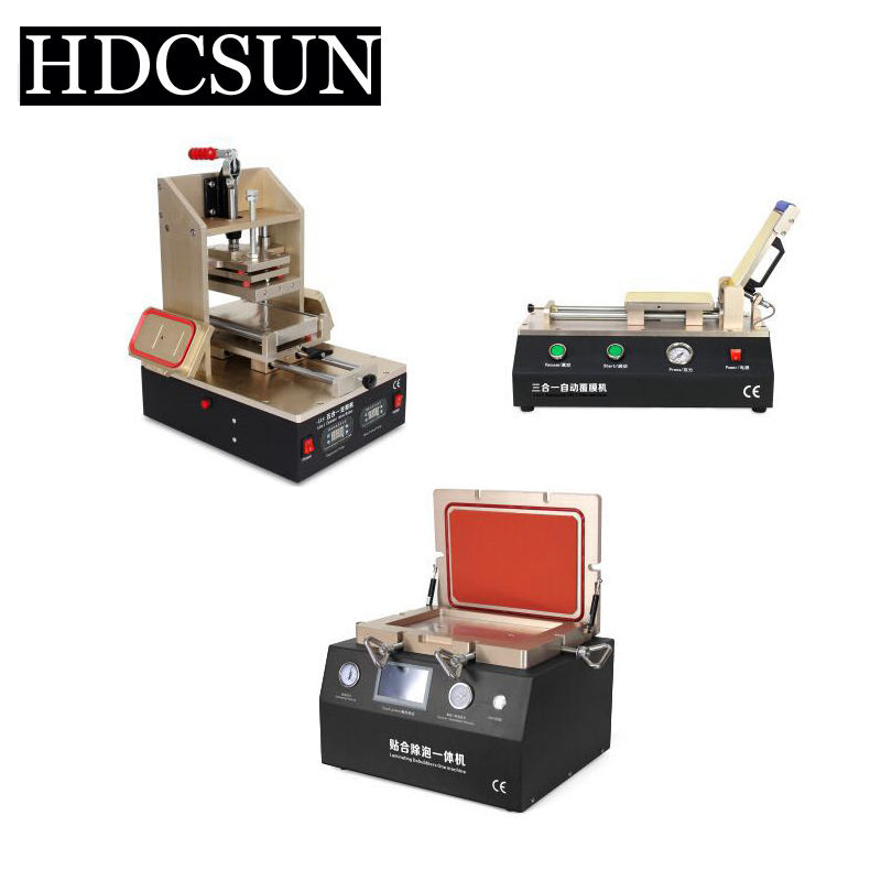12inch Vacuum Laminating /Bubble Remover Frame Laminator Automatic OCA Polarizer Film Laminating LCD Separator Glue Remover tbk lcd repair equipment oca vacuum laminator machine 3 in1 automatic oca film machine aluminum alloy automatic separator