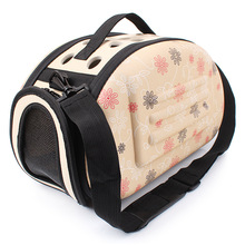 CAWAYI KENNEL  EVA Portable Folding Travel Dog Carrier