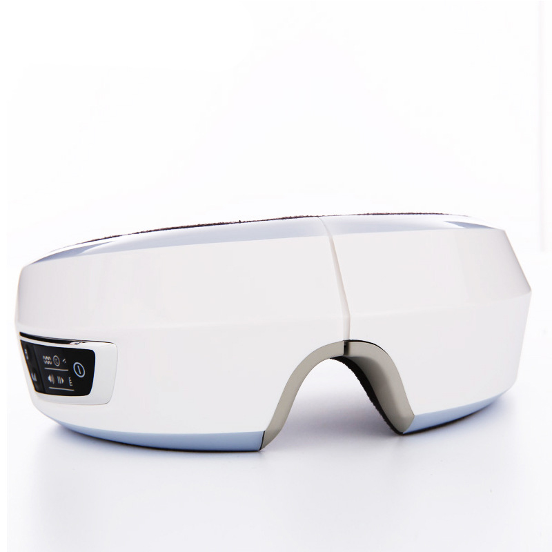 Healthsweet Airpressure Eye Massager With Mp3 Functions Wireless Vibration Eye Magnetic Far-Infrared Heating Eye Care Glasses kiki new air pressure eye massager with mp3 6 functions dispel eye bags eye magnetic far infrared heating eye care
