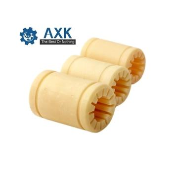 Rodamientos lineales de polímero MSM Europe 2 unids/lote PLME06 08 10 12 16 20 25 30 bujes de plástico completos (equivalente a RJMP-01) mm