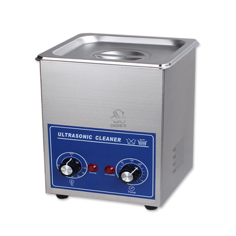 ФОТО 110V Ultrasonic cleaner 220V PS-08 heater & timer 60W 40KHZ for Household glasses jewelry watch electronic pcb lab wash machine