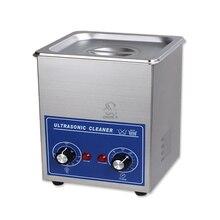 110 В Ультразвуковой очиститель 220 В PS-08 нагреватель и таймер 60 Вт 40 КГЦ для Бытовые очки ювелирные часы электронные pcb лаборатории мыть машину