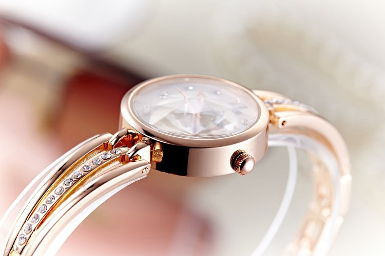 New Fashion Rhinestone Watches Women Luxury Brand Stainless Steel Bracelet watches Ladies Quartz Dress Watches reloj mujer AC070 16