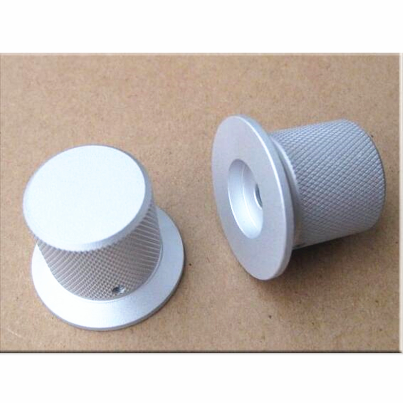 1 piece 38mm knob <font><b>for</b></font> <font><b>amplifier</b></font> <font><b>pre</b></font> <font><b>amplifier</b></font> Volume potentiometer knob Screw fixing image