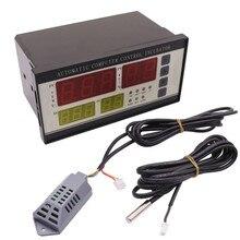 XM-18 Инкубатор Штриховки Машина Части Автоматизации Контроллер Температуры И Датчик Влажности (с Разъемом) 4 экран